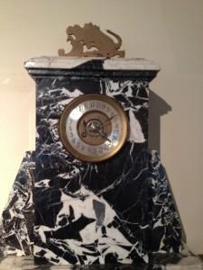 Zegar z muzemu w Lier z tarczą 24 h