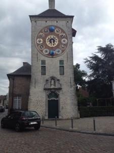 zegar astronomiczny Lier